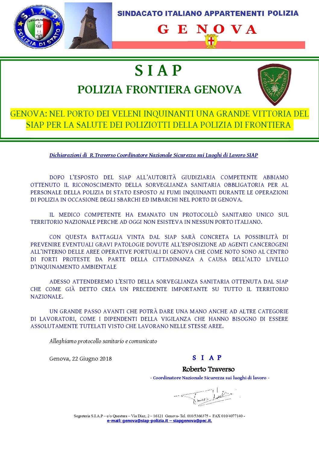 Questura Di Genova Permessi Di Soggiorno Pronti